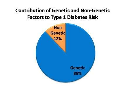 Diabetes genetic-nongenetic factors