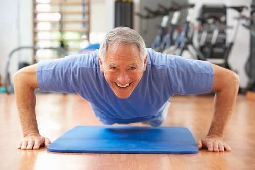 Diabetes Man Exercising